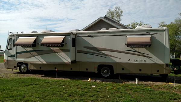 1997 Tiffin Allegro Bus 40 Ft Motorhome For Sale In