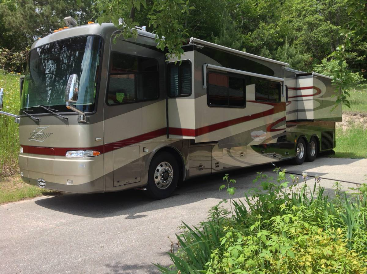 2006 Tiffin Zephyr 45FT Motorhome For Sale in Northern ...
