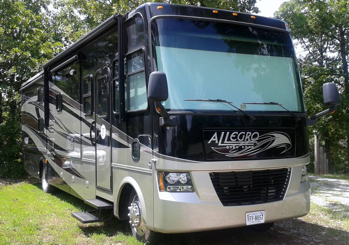 2011 Tiffin Allegro 35FT Motorhome For Sale in Lake of the ...