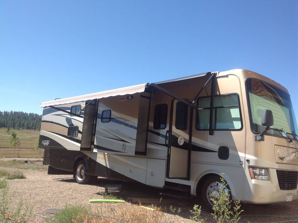 2012 Tiffin Qbh 35ft Motorhome For Sale In Pagosa Co