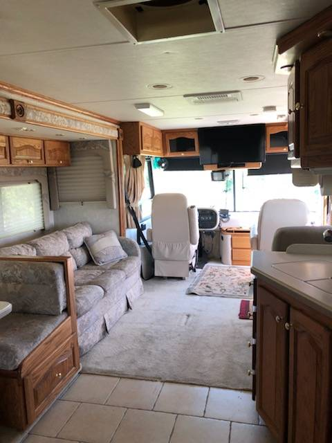 2002 Tiffin Allegro Bus 35FT Auto Motorhome For Sale in ...